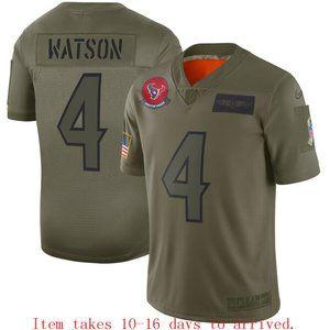 Texans #4 Deshaun Watson Limited Jersey Camo
